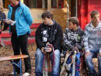 Schüler aus Zittau und Lwówek Slaski besuchen gemeinsam den Kletterpark in Großschönau
