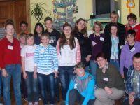 Schüler aus Jelenia Góra und der Jahnschule Görlitz schmückten gemeinsam den Weihnachtsbaum