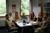 Beratung mit den Liberecer Partnern in der HSB Zittau