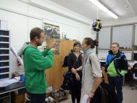 Exkursion im Regionalen Technologischen Institut in Pilsen